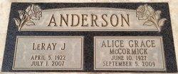 LeRay J Anderson