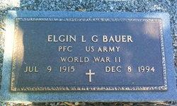 Elgin Louis Gottlieb Bauer