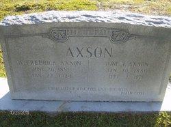 Iona Inez <i>Livingston</i> Axson
