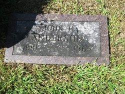 John Harvey Anderson