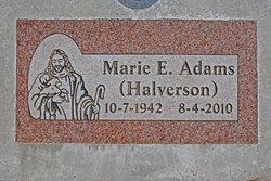 Marie Elizabeth <i>Halverson</i> Adams