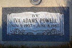 Iva E <i>Adams</i> Powell