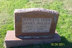 Josetta Walker <i>Houk</i> Armes