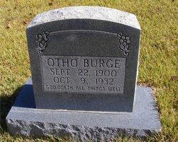 Otho McKinley Burge