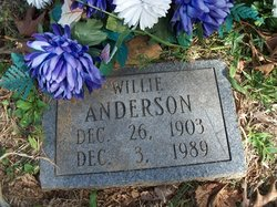 Willie Thomas Anderson