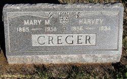 Mary Martha <i>Vandeventer</i> Creger