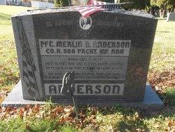 PFC Merlin B. Anderson