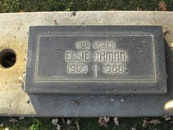 Elsie Ahman