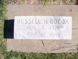 Russell H Bocox