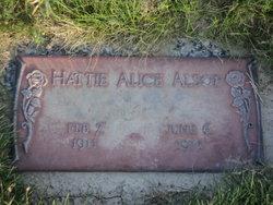 Hattie Alice <i>Smith</i> Alsop