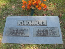 Gertrude <i>Kersey</i> Aldridge