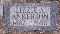 Lizzie A Anderson