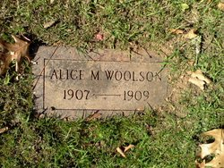Alice M Woolson
