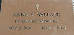Anna V Wallace