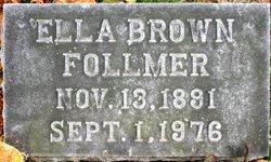 Ella <i>Brown</i> Follmer
