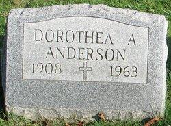 Dorothea A Anderson