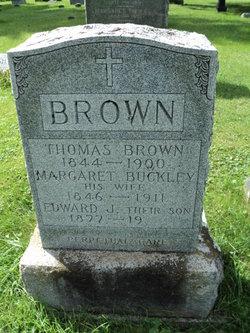 Margaret <i>Buckley</i> Brown