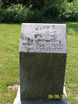Mary E <i>Davis</i> McFarlane