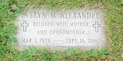Evelyn M <i>Woodman</i> Alexandre