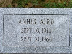 Bessie Annis <i>Lawrence</i> Aird