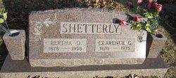 Clarence G Shetterly