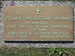 Capt Frank Houston Adams