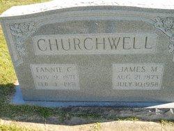 Fannie <i>Currey</i> Churchwell