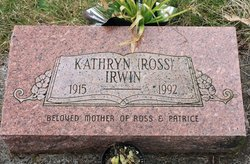 Kathryn Elizabeth <i>Ross</i> Irwin