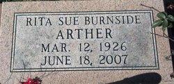 Rita Sue <i>Burnside</i> Arther