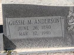 Gussie Mae <i>Anderson</i> Anderson