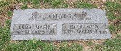 Edith Mary <i>Richter</i> Lambers