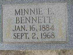 Minnie E. <i>Simmons</i> Bennett