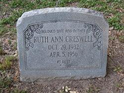 Ruth Ann <i>Simpson</i> Creswell
