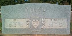 Frederick H Birck