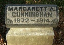 Margaret Amanda <i>Huntzinger</i> Cunningham