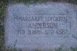 Margaret Geneva <i>Dana</i> Anderson