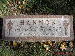 Marion A Hannon