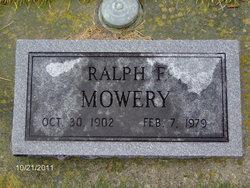 Ralph F Mowery