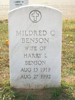 Mildred <i>Clothier</i> Benson
