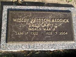 Wesley Preston Reddick