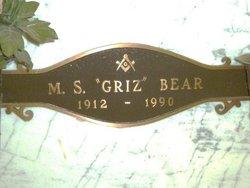 Myron S Griz Bear