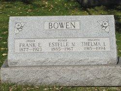 Thelma L Bowen