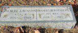 Frances <i>Berninger</i> Benson