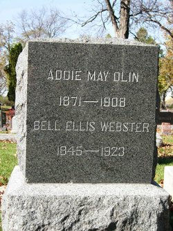 Addie May <i>Ellis</i> Olin