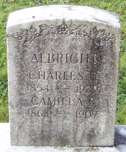 Mrs Camilla S. <i>Moyer</i> Albright