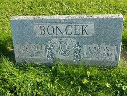 Marian <i>McSain</i> Boncek
