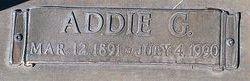 Addie G Adams