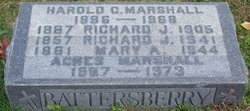 Harold G Marshall