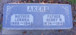 Lenora <i>James</i> Akers