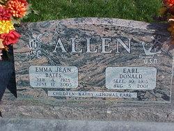 Earl Donald Allen
